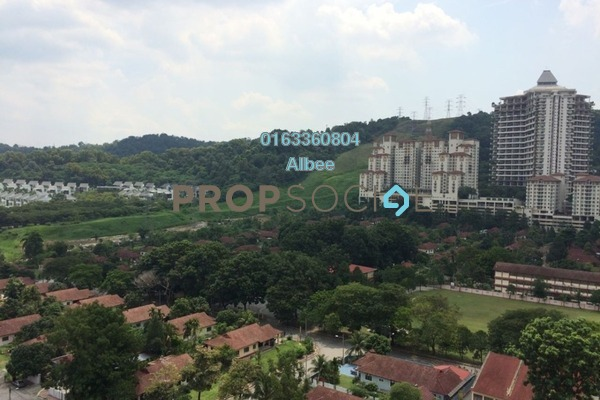 For Rent Condominium at Ritze Perdana 1, Damansara Perdana Freehold Semi Furnished 0R/1B 1k