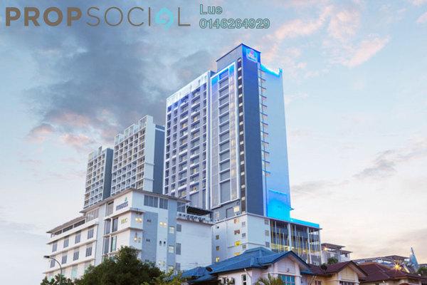 For Rent Duplex at i-City, Shah Alam Freehold Semi Furnished 0R/1B 1.2k