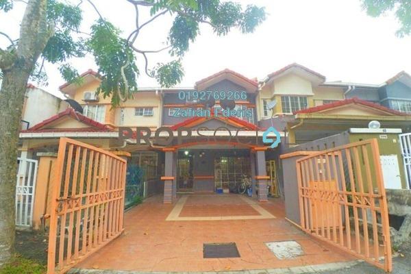 For Sale Terrace at Taman Dato Demang, Bandar Putra Permai Freehold Semi Furnished 4R/3B 699k