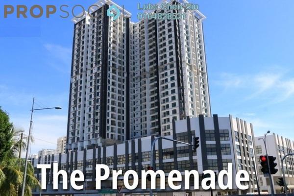 For Rent Condominium at Promenade Residence, Bayan Baru Freehold Semi Furnished 3R/2B 1.6k