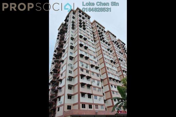 For Rent Condominium at Pinang Emas Flat, Batu Ferringhi Freehold Fully Furnished 3R/1B 700translationmissing:en.pricing.unit