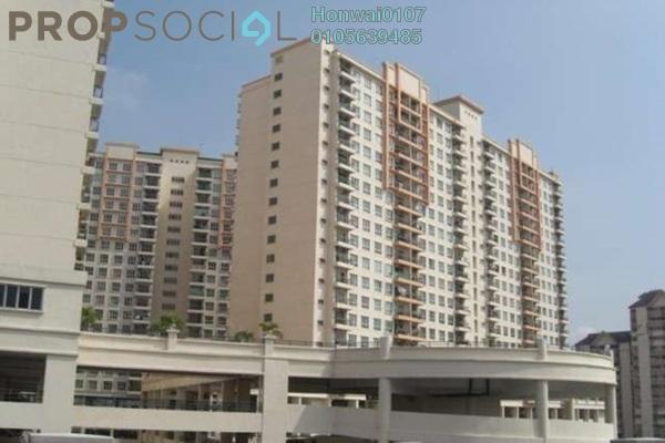 For Rent Condominium at Kuchai Avenue, Kuchai Lama Freehold Semi Furnished 3R/2B 1.45k