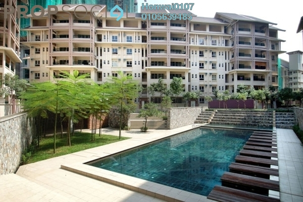 For Rent Condominium at Seri Maya, Setiawangsa Freehold Fully Furnished 3R/2B 2.2k