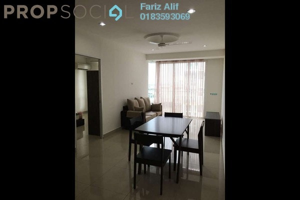 For Rent Serviced Residence at Menara U, Shah Alam Freehold Fully Furnished 2R/1B 1.6k