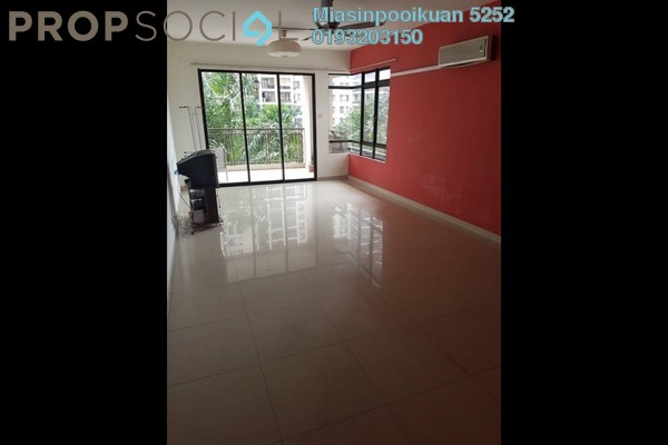 For Rent Condominium at Royal Regent, Dutamas Freehold Semi Furnished 3R/2B 1.8k