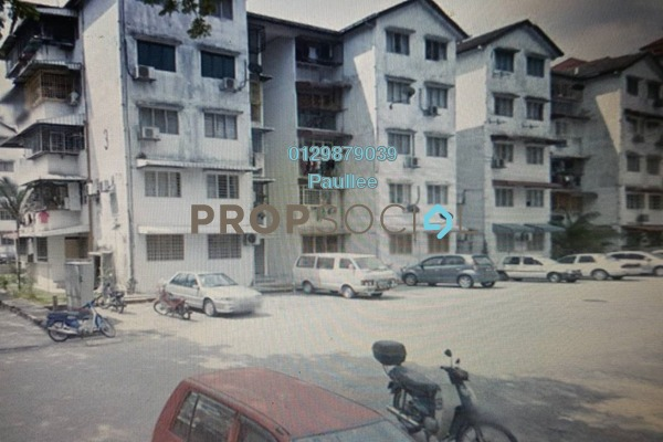 For Sale Apartment at Happy Garden Flat, Kuchai Lama Freehold Unfurnished 3R/1B 320k