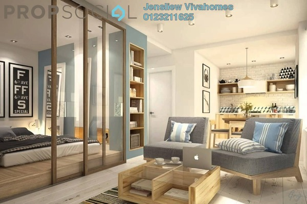 For Sale Condominium at Kampung Baru Subang, Shah Alam Freehold Fully Furnished 2R/2B 355k