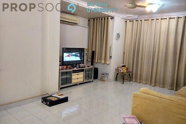 For Sale Townhouse at Taman Perai Utama, Seberang Jaya Freehold Fully Furnished 3R/2B 300k