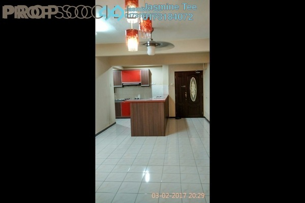 For Rent Condominium at City Garden Palm Villa, Pandan Indah Leasehold Semi Furnished 3R/2B 1.5k