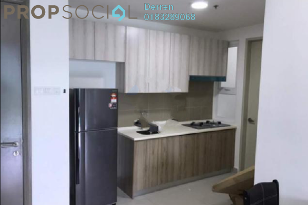 For Rent Condominium at Mutiara Ville, Cyberjaya Freehold Fully Furnished 3R/2B 1.7k
