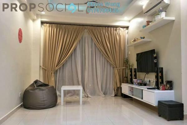 For Rent Condominium at Idaman Iris, Sungai Ara Freehold Semi Furnished 3R/2B 1k