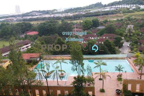 For Sale Condominium at Perdana Exclusive, Damansara Perdana Freehold Semi Furnished 2R/2B 520k