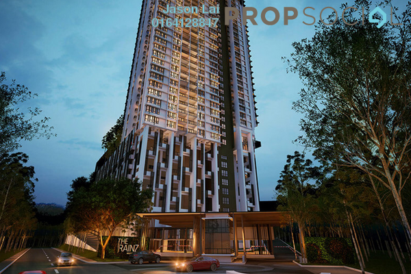For Sale Condominium at The Rainz, Bukit Jalil Freehold Semi Furnished 4R/3B 1.03m