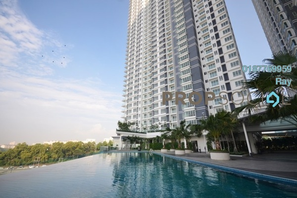 For Rent Condominium at Desa Green Serviced Apartment, Taman Desa Freehold Semi Furnished 3R/2B 1.9k
