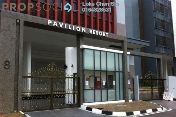 For Rent Condominium at Pavilion Resort, Teluk Kumbar Freehold Semi Furnished 4R/2B 1.3k
