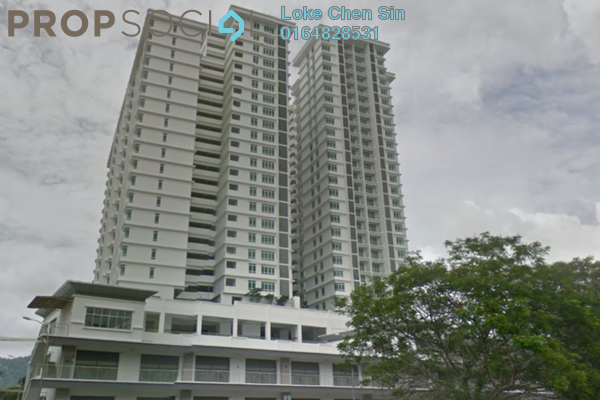 For Rent Condominium at Arena Residence, Bayan Baru Freehold Unfurnished 4R/2B 2k