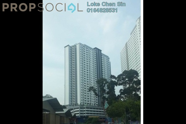 For Rent Condominium at Sierra Residences, Sungai Ara Freehold Semi Furnished 3R/2B 1.2k