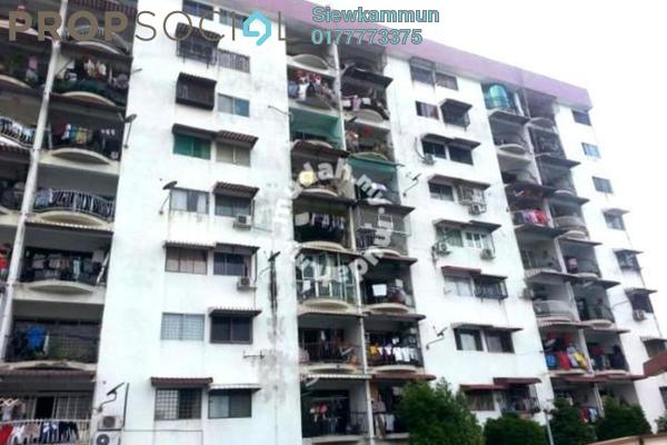 For Rent Apartment at Sunrise Park, Ampang Freehold Unfurnished 3R/2B 1.2k