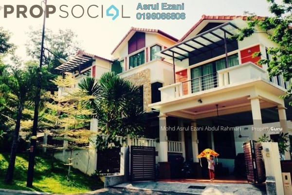 For Sale Bungalow at RiverView, Melawati Freehold Semi Furnished 9R/9B 5.5m