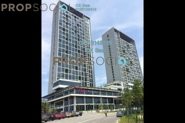 For Rent Condominium at The Place, Cyberjaya Freehold Fully Furnished 2R/1B 1.1k
