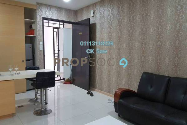 For Rent Condominium at Pertama Residency, Cheras Freehold Fully Furnished 1R/1B 1.6k