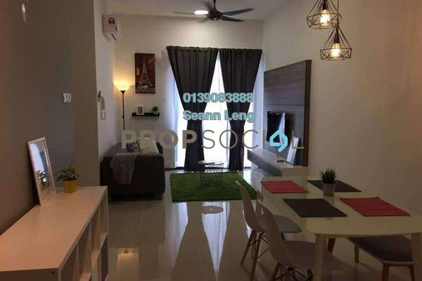 For Rent Condominium at South View, Bangsar South Freehold Fully Furnished 2R/2B 2.75k