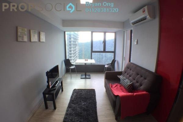 For Rent SoHo/Studio at Empire City, Damansara Perdana Freehold Fully Furnished 0R/1B 1.25k