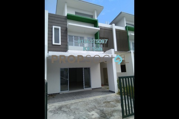 For Sale Superlink at The Clover Homes @ Laman Semanggi, Semenyih Leasehold Unfurnished 4R/4B 535k