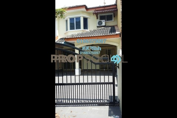 For Sale Terrace at Taman Murni, Cheras South Freehold Semi Furnished 3R/2B 438k