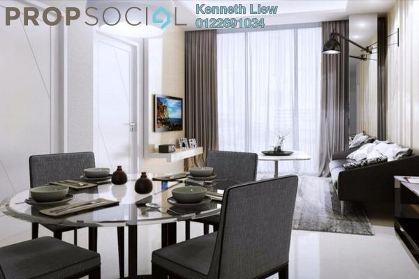 For Sale Condominium at Pinnacle, Sri Petaling Freehold Semi Furnished 3R/3B 600k