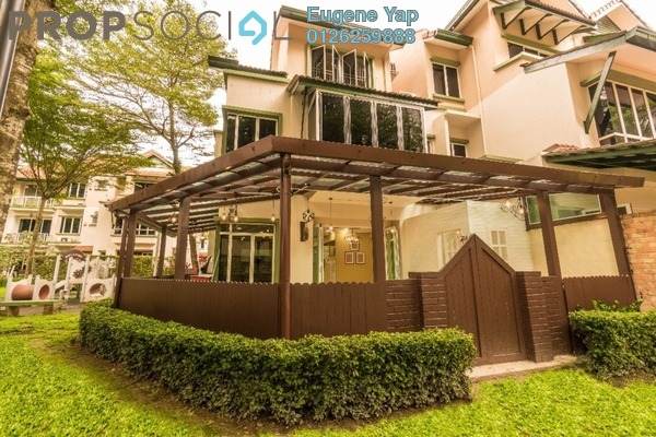 For Sale Terrace at Adora, Desa ParkCity Freehold Fully Furnished 4R/4B 238k