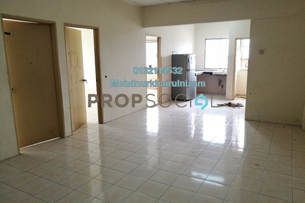 For Sale Apartment at Taman Pandan Ria 2, Ampang Leasehold Unfurnished 3R/2B 240k