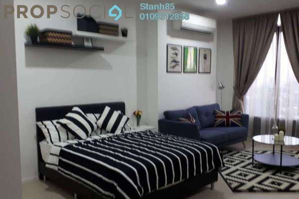 For Rent Condominium at Arcoris, Mont Kiara Freehold Fully Furnished 0R/1B 2.6k