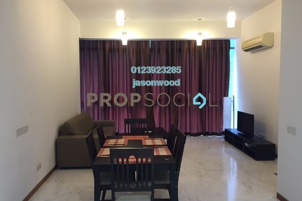 For Sale Condominium at Twins, Damansara Heights Freehold Semi Furnished 1R/1B 950k