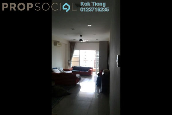 For Sale Condominium at Hartamas Regency 2, Dutamas Freehold Semi Furnished 4R/3B 1.23m