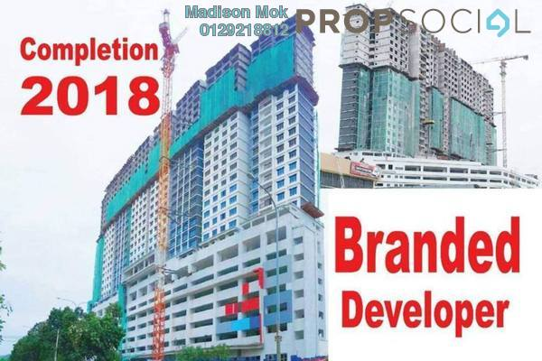 For Sale Condominium at The Edge Residen, Subang Jaya Freehold Semi Furnished 2R/2B 398k