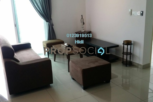 For Rent Serviced Residence at De Centrum Residences, Kajang Freehold Fully Furnished 2R/2B 1.8k