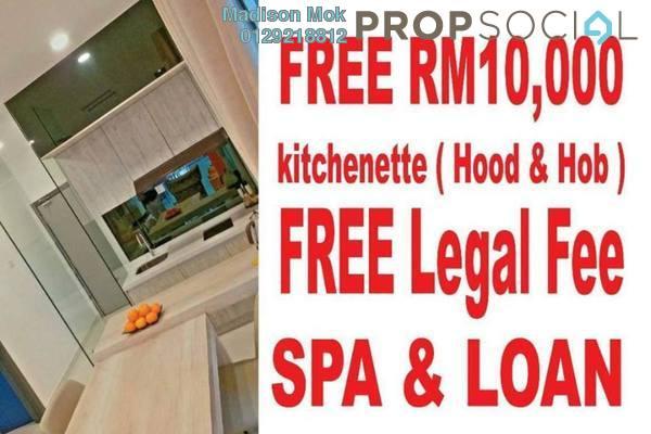 For Sale Condominium at The Edge Residen, Subang Jaya Freehold Semi Furnished 3R/3B 590k