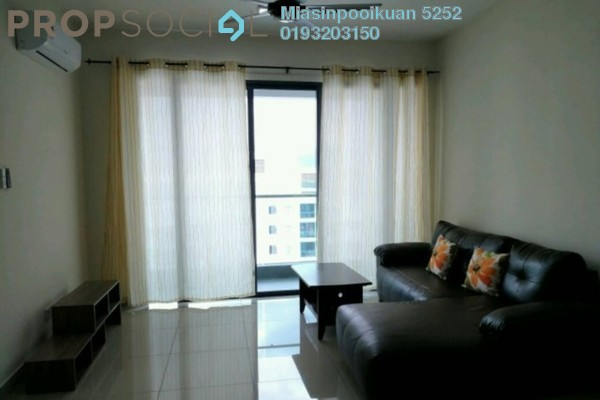 For Rent Condominium at New Green Park, Rawang Freehold Fully Furnished 3R/2B 1.85k