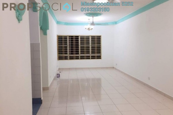 For Rent Apartment at Melur Apartment, Sentul Freehold Unfurnished 3R/2B 1.4k