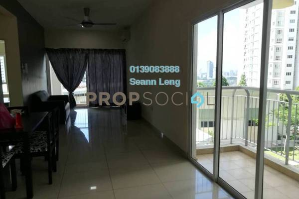 For Rent Condominium at Metropolitan Square, Damansara Perdana Freehold Fully Furnished 3R/2B 2.35k