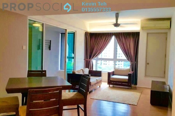 For Sale Condominium at i-Zen Kiara I, Mont Kiara Freehold Fully Furnished 2R/2B 780k