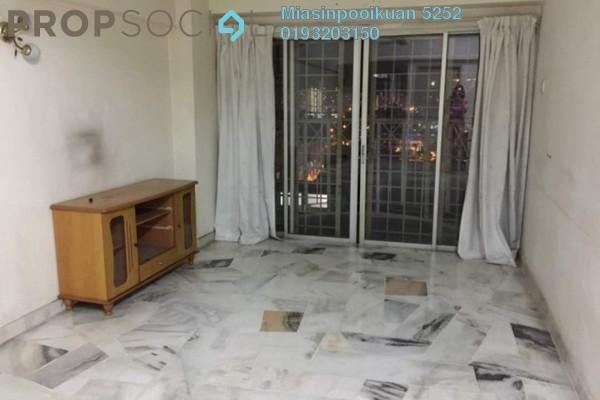 For Rent Condominium at Sri Pelangi, Setapak Freehold Semi Furnished 3R/2B 1.2k