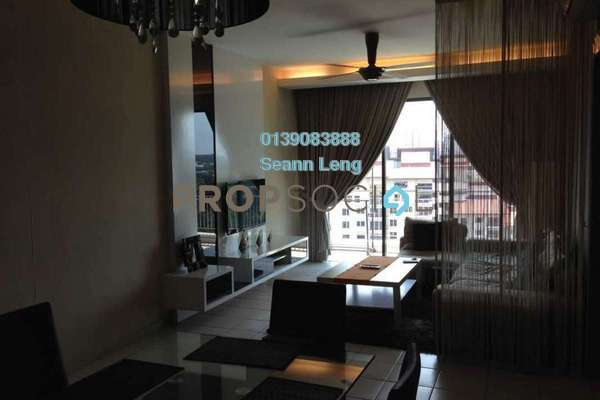 For Rent Condominium at Opal Damansara, Sunway Damansara Freehold Fully Furnished 3R/3B 2.8k