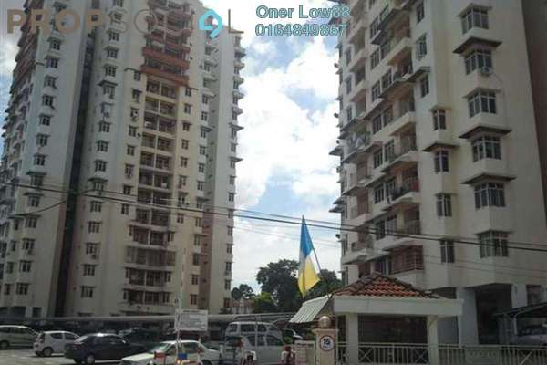 For Sale Apartment at Acres Ville, Sungai Ara Freehold Semi Furnished 3R/2B 350k