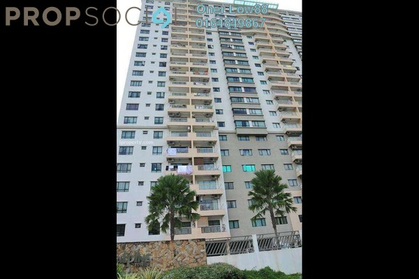For Rent Condominium at Alpine Tower, Bukit Jambul Freehold Semi Furnished 3R/2B 1.35k