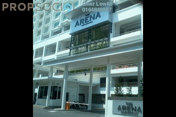 For Rent Condominium at Arena Residence, Bayan Baru Freehold Semi Furnished 4R/2B 1.6k