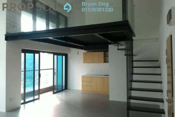 For Rent SoHo/Studio at Empire City, Damansara Perdana Freehold Semi Furnished 1R/2B 1.2k