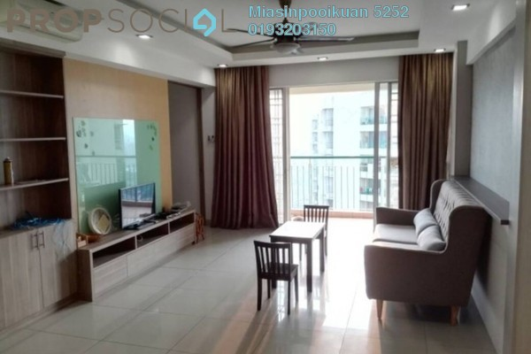 For Rent Condominium at Villa Wangsamas, Wangsa Maju Freehold Fully Furnished 3R/2B 2.2k