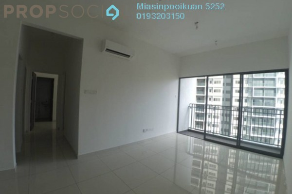 For Rent Serviced Residence at Ipoh New Town, Ipoh Freehold Semi Furnished 3R/2B 1.4k